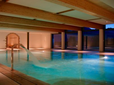 Luxury apartment (110 m2) with swimming pool and sauna in Haute-Nendaz