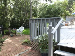 New Seabury house photo - backyard patio
