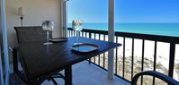SMART AND TRENDY, PROFESSIONALLY DECORATED 1 BR CONDO IN INDIAN SHORES WITH PANORAMIC GULF VIEW!