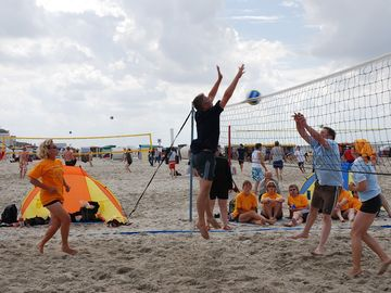 Volleyball am Strand