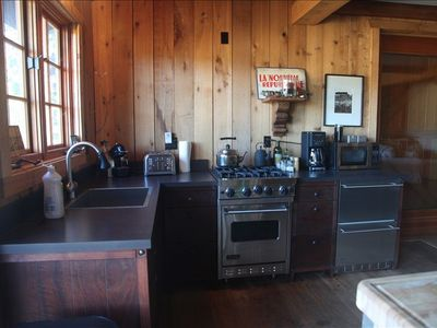 Old Rustic Barn Viking Kitchen