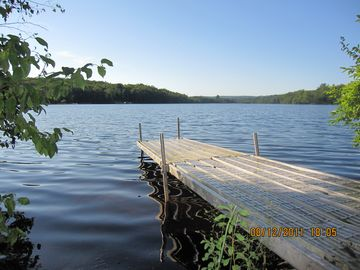 Swan Lake cottage rental - Grab the boat and GO.....