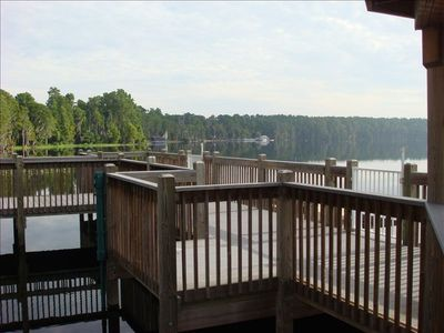 Blue Heron Beach Resort Dock off Lake Bryan
