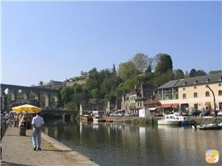 Dinan cottage rental - The port - bottom of Rue du Petit Fort