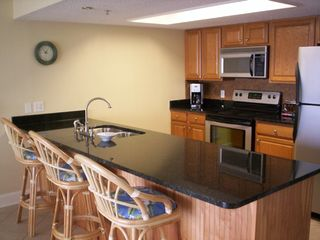 Indian Shores condo photo - Updated kitchen with Granite and new appl