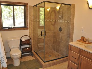 Recently remodeled downstairs bathroom