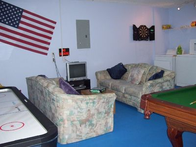 Games Room, DVD, Game Cube, sofas