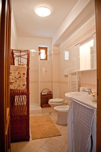 Massa Lubrense chateau / country house rental - Bathroom