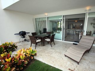 Playa del Carmen condo photo - Patio