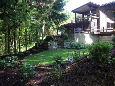 rentals homes house cabins images secluded and west in vacation resort ideas michigan branch lodges clear rentmicabins on cabin cottages best lake