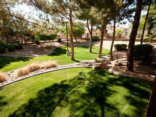The community green, as seen from your back yard. - Phoenix house vacation rental photo
