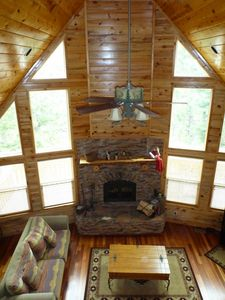 Cabin Family Room