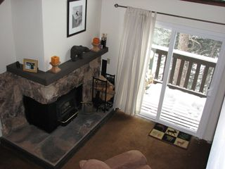 Mammoth Lakes condo photo - Fireplace
