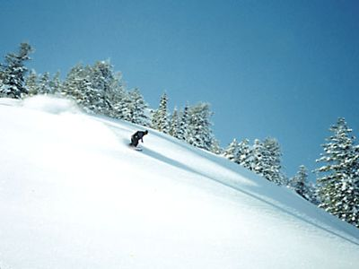 Powder Mountain townhome rental - Surfing the goods!