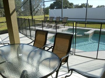 The Shire at West Haven house rental - POOL AND PATIO