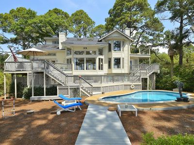 Beautiful Ocean Front Home with Private Pool and Sundeck on Beach.