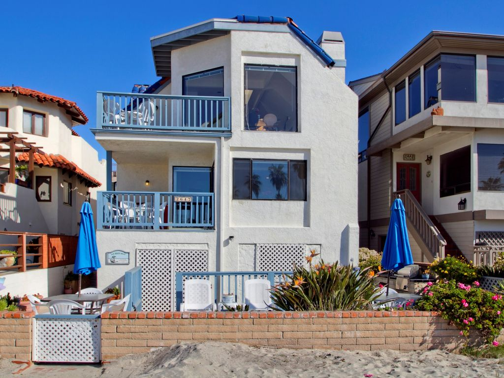 Mission beach vacation rental vrbo 458659 4 br san for San diego county cabin rentals