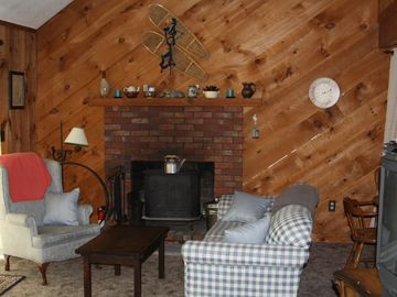 North Conway condo rental - Cozy Woodstove