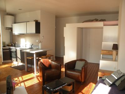 Renovated apartment, bright, contemporary, hyper center