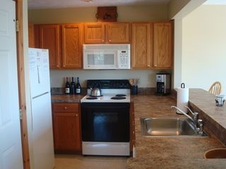 Tannersville townhome photo - Kitchen with everything you need.