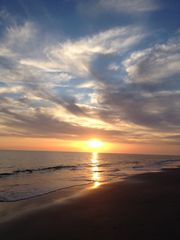 Bald Head Island house photo - Sunset at Flora's Bluff beach on BHI