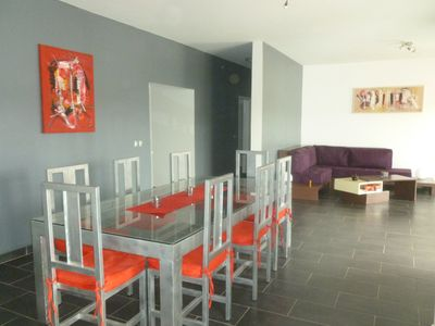image for Recent modern villa in the village and a few steps from the beach