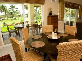 Ko Olina estate photo - Dining Areas - Both Interior and Lanai Dining Tables