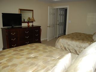 Kingston Plantation condo photo - Middle Bedroom with 2 Queen beds