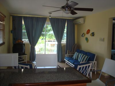 Rincon apartment rental - LIVING ROOM