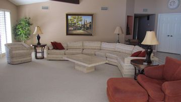Rio Verde house rental - Open great room with lots of seating!