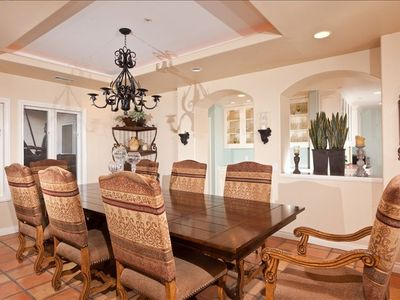 formal dining room seats 8-12