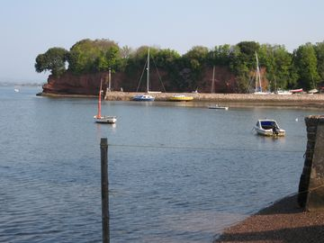 Lympstone Harbour taken from slipway