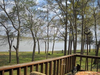 Lake Bob Sandlin house rental - View from the Deck