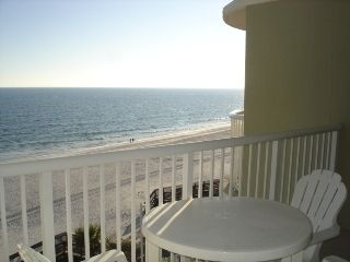 View of the beach and gulf from the unit