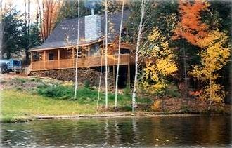 Wildwood Lakefront Log Home