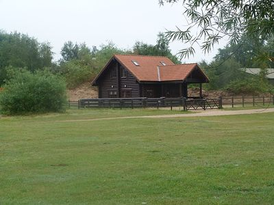 Stunning Real Log Cabin On Secluded Corner Plot w/ Unspoilt Lakes Parkland Views