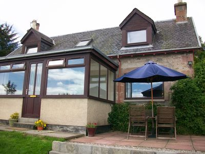 Detached Farmhouse with Garden and Stunning Views.
