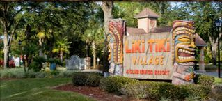 Kissimmee property rental photo - Liki Tiki Village Entrance
