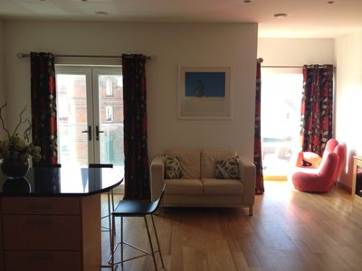 Portrush luxury family orientated self contained apartment with private car park