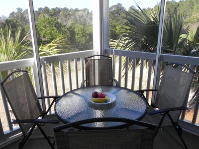 Windy Hill condo rental - Dine on the Lanai