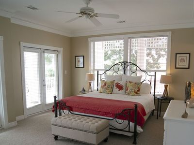 Huge Master Suite located on 2nd floor w/sitting area and wrap around porch.