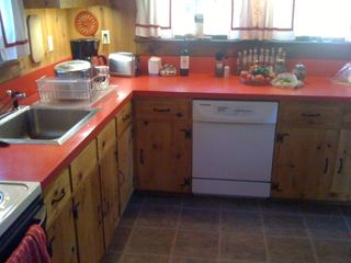 Newfound Lake house photo - Fully appointed kitchen.