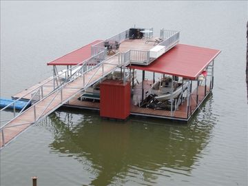 Lewis Smith Lake cabin rental - Dock for swimming, diving, fishing and boat, and pontoon rental