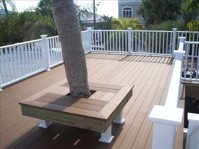 New Second Level Deck with Water Views!
