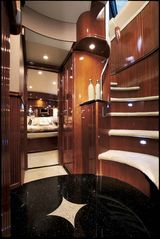 Aventura yacht photo - Little Castle - Stair case