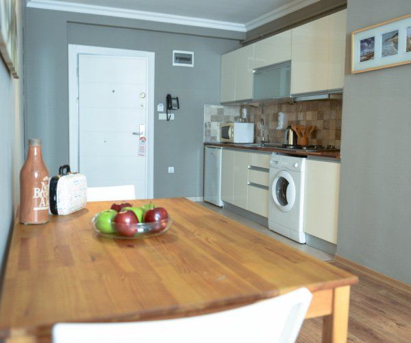 1 BR Apartment with Kitchen in Atasehir - 3