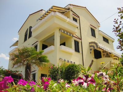 large villa with sea view, barbecue, parking, walking distance from the beach - 4 Bett - Apartment für 4-6 Personen