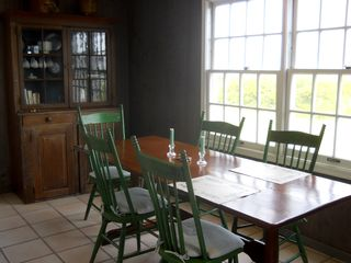 Pocomo house photo - Dining area with water view
