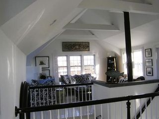 Siasconset house photo - Space open & airy - high ceilings, very breezy.