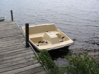 Mount Pocono chalet photo - Peddle Boat... sun canopy not shown.